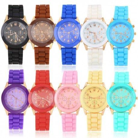 Montres Jelly Watch Best Price avec bracelet en silicone. Choisissez parmi une grande variété de couleurs. Fabriqué à partir de matériaux de haute qualité.