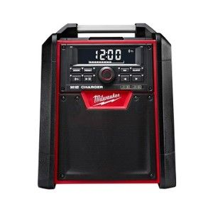 M18 Jobsite Radio Charger: New Milwaukee Tool charging radio features Bluetooth connectivity