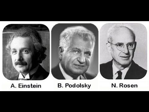 Beaudoin Hurens - Albert Einstein - Boris Podolsky - Nathan Rosen