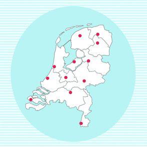 Topografie oefenen (provincies en hoofdsteden)
