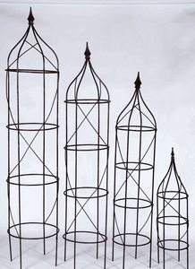 Wrought Iron Rose Trellis Plant Support