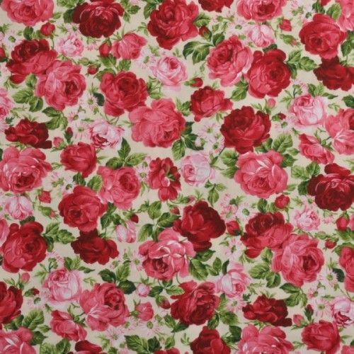 č.1320 Růže na smetanové