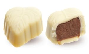 Конфеты ручной работы Frade ЖЕРМИНАЛЬ Апельсиновая начинка с молочным шоколадом – вкус весеннего настроения.
