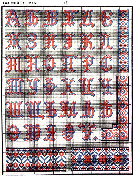 Russian embroidery / Русская