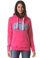 Superdry Womens Vintage Logo Entry Hood - Punk Pink - Christmas Gift – Last One - Going Fast!