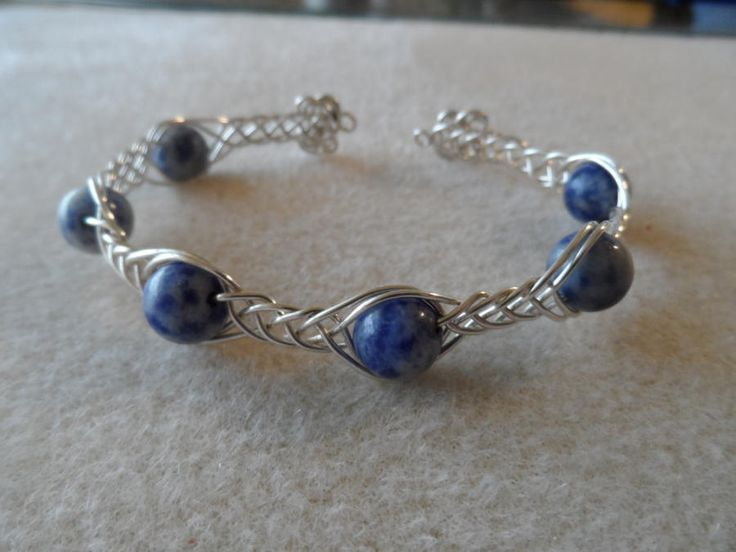 Celtic knot bangle - Jewelry creation by Brandswife Creations