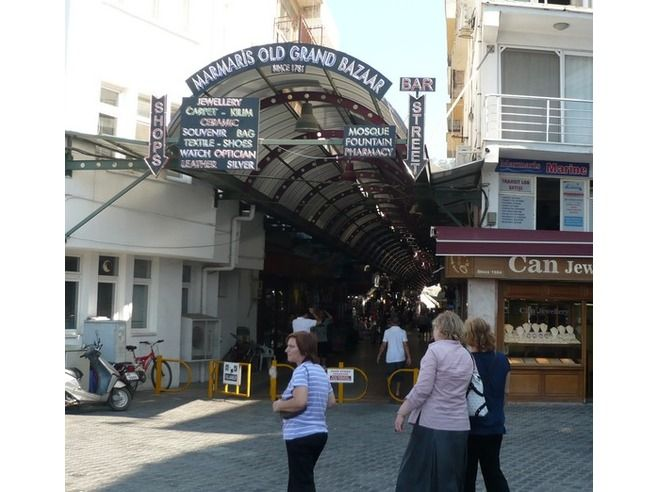 The Bazaar in Marmaris Turkey. Get ready to haggle for some great knockoffs with good quality and craftsmanship. Had a freakin blast there.