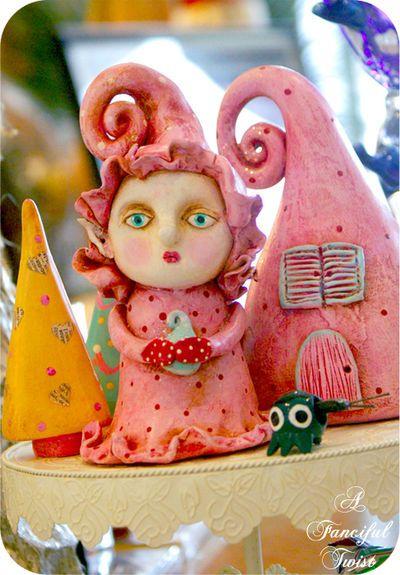 Magical Sugar Plum Fairy Cakes Recipe — Dishmaps