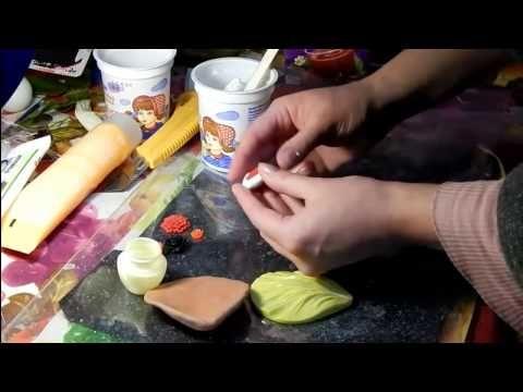 Как сделать силиконовый молд своими руками  How to Make Silicone Moulds - YouTube