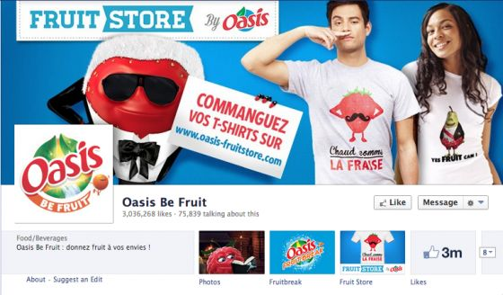 Oasis Fun Page