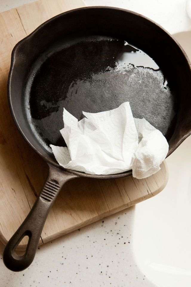 The 5 Most Important Things You Need to Know About Cleaning Your Cast Iron Skillet — Tips from The Kitchn | The Kitchn