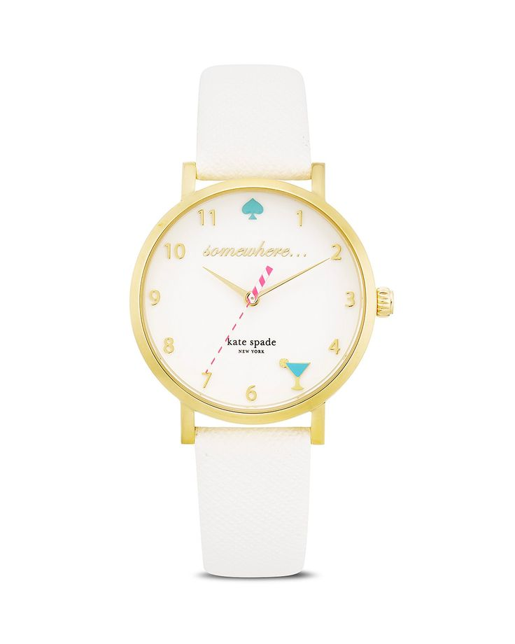 kate spade new york It's 5 O'Clock Somewhere Watch, 34mm - First at Bloomingdale's | Bloomingdale's