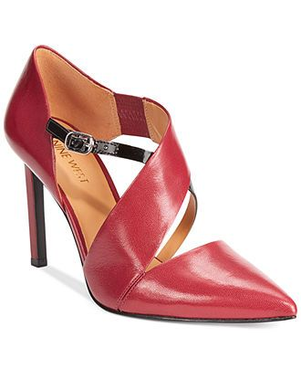 Nine West Chillice Pumps leather cartier, anthrycite suede black 3.5h (84.15) NA
