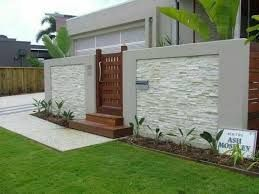 The 25+ best Boundary walls ideas on Pinterest | Fence wall design ...