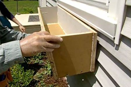 with general contractor Tom Silva | thisoldhouse.com | from How to Build and Install Window Boxes