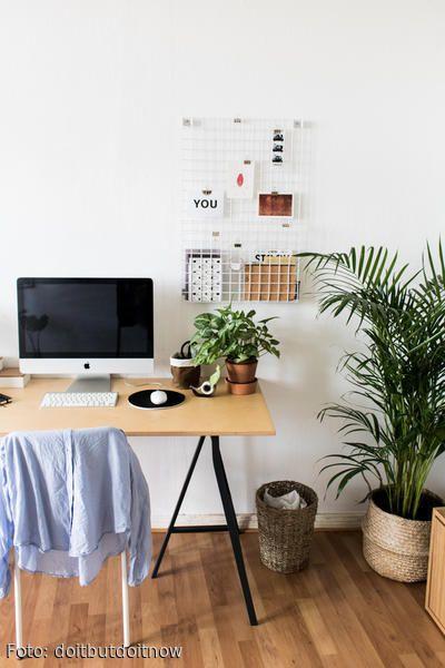 138 best Arbeitszimmer images on Pinterest Home office - schreibtisch diy