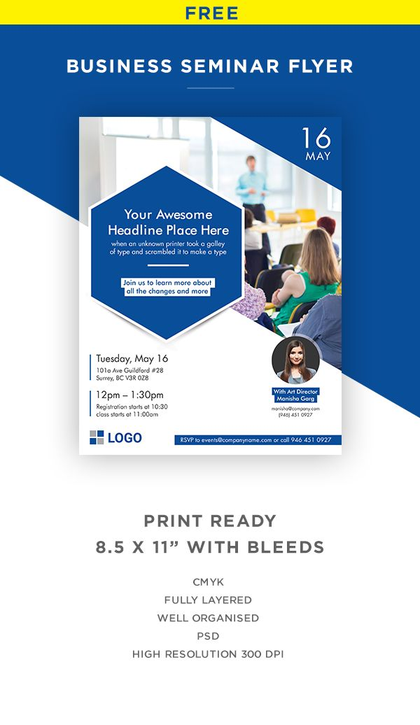 Do You Need A Creative Clean And Modern Flyer For Your