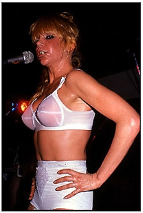 Bra  Panties  Wendy O Williams  Plasmatics  Pinterest -3162