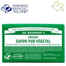 Dr. Bronner's Magic Soaps - Pain de Savon Pur Végétal Amande Disponible dans l'e-shop www.officina-paris.fr #officina #paris #eshopping #beaute #pain #barsoap #vegetal #solide #cosmetiques #savon #douche #gel #liquide #bio #naturel #fairtrade #drbronner #drbronners #magicsoap #soap #organic #vegan #equitable #argrumes #orange #citrus #fresh #rose #peppermint #menthepoivree #amande #arbreathe #teatree #eucalyptus #lavande