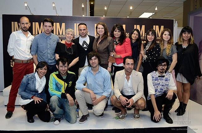 ¡Foto grupal de Designers Corner en la rueda de prensa de Intermoda, edición 57!