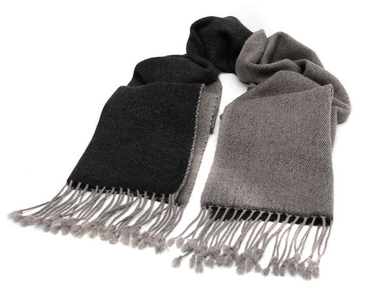 Reversible (Lab-Tested) 100% Cashmere/Pashmina Scarf! Available at: