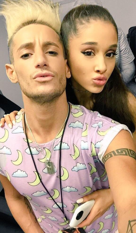 Image result for frankie and ariana grande