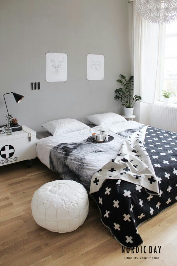 Je t  ne  bude ofici ln  spu t n nov       Ma Maison Blanche  M j b l   domov. 266 best ideas about Nordic bedroom on Pinterest   Grey