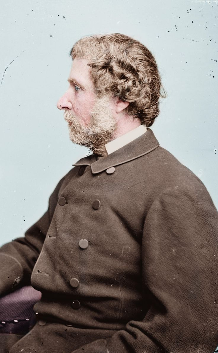 John C. Fremont an American military officer math instructor explorer author U.S. Senator and politician who in 1856 became the first presidential candidate of the Republican party