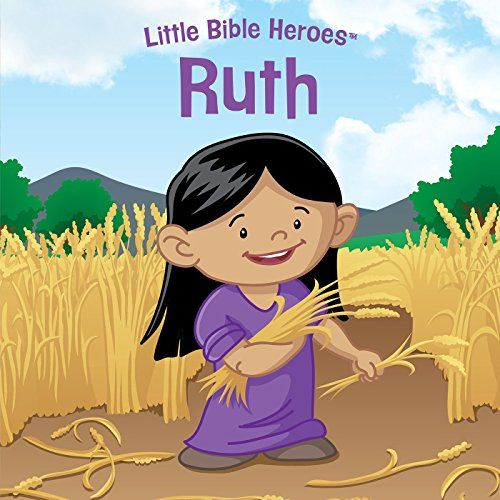 Ruth (Little Bible Heroes™):   DIVPKids love a great hero story, and there's no better place to find them than the Bible. This one tells the story of Ruth./PPEach Little Bible Heroes™ story tells of bravery, faithfulness, and kindness—straight from the Bible and perfect for little hero-loving hearts!Collect the entire series:/PPICreation/I/PPINoah/I/PPIMiriam/I/PPIDaniel/I/PPIJoshua/I/PPIRahab/I/PPISamuel/I/PPIThe Little Maid/I/PPIDavid/I/PPIEsther/I/PPIJoseph/I/PPIThe Good Samari...