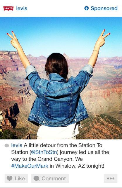 Los anuncios de Instagram debutarán la semana próxima y así se ven