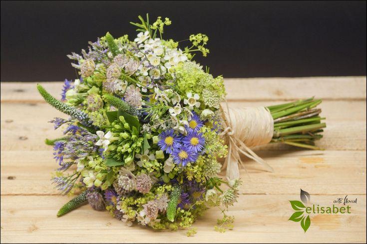Boda silvestre, trigo y lavanda | Elisabet Arte Floral Blog