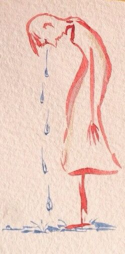Liza.polesushkina #sketch #man #person #cry