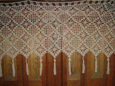 Cortinas Artesanales A Crochet Chile Com Portal Pelautscom
