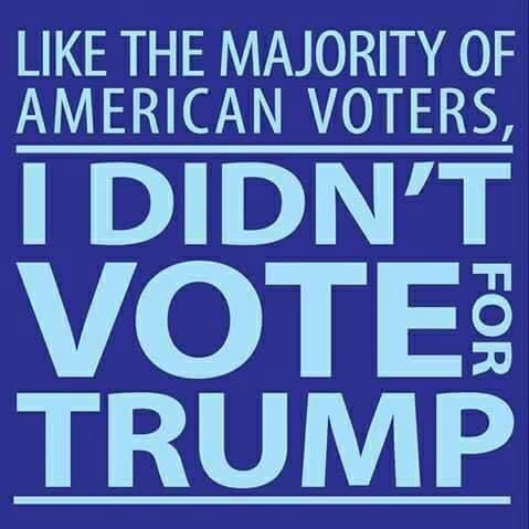 It's sad when the candidate that wins by millions of votes does not win due to a Russian dictators influence and an incompetent FBI director's political meddling.