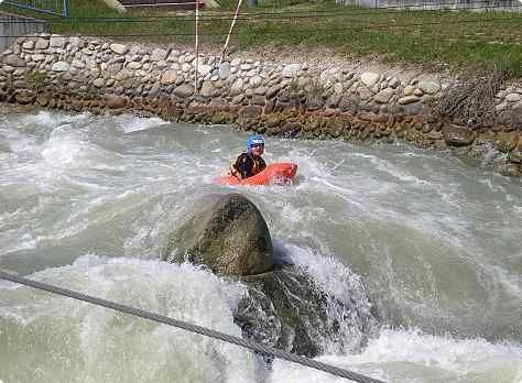 Adrenaline Water Sport Activity Hydrospeed #bratislava #stagdo