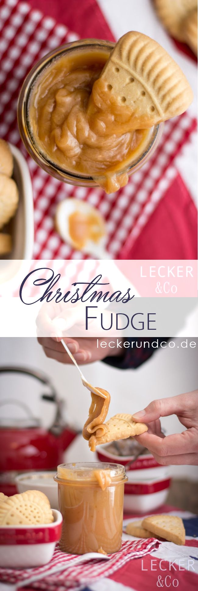 Christmas Fudge mit Zimt und Orange