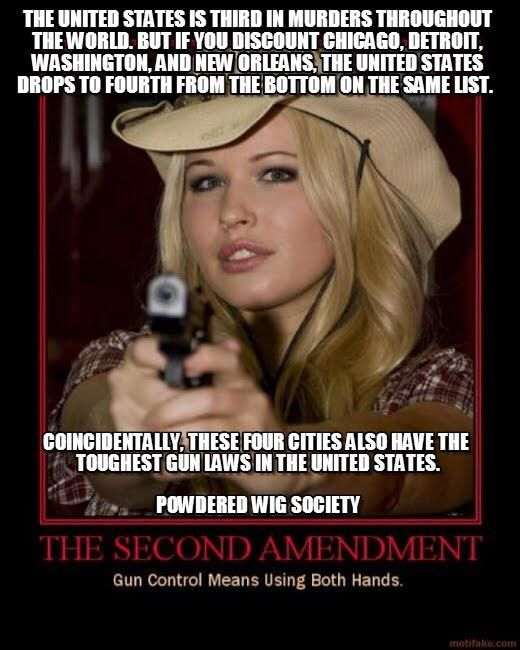 Gun control means using both hands!