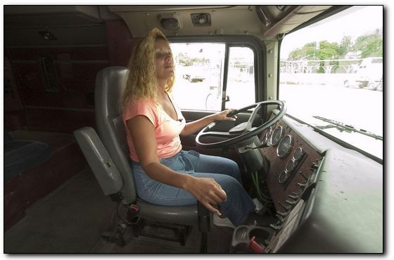 Single lady truckers