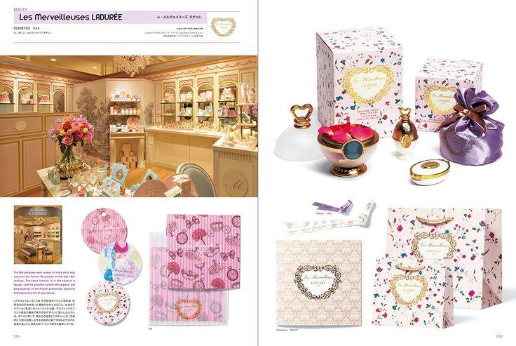 Les Merveilleuses LADUREE: Shop Image Graphics in Tokyo+