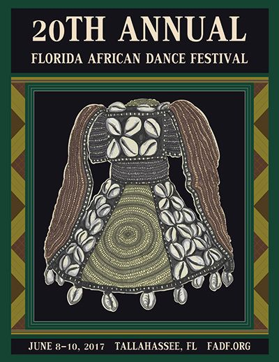 Florida African Dance Festival Jun 8-10, 2017 Tallahassee, FL http://www.fadf.org  Celebrating 20 Years, the African Caribbean Dance Theatre, Inc. proudly presents the 20th Annual Florida African Dance Festival (FADF) June 8 - 10, 2017 in Tallahassee, Florida at the Tallahassee Community College. FADF is a 3-day conference that features internationally renowned artists in dance and drum workshops, and an exciting performance concert. Other highlights include special dance workshops for…