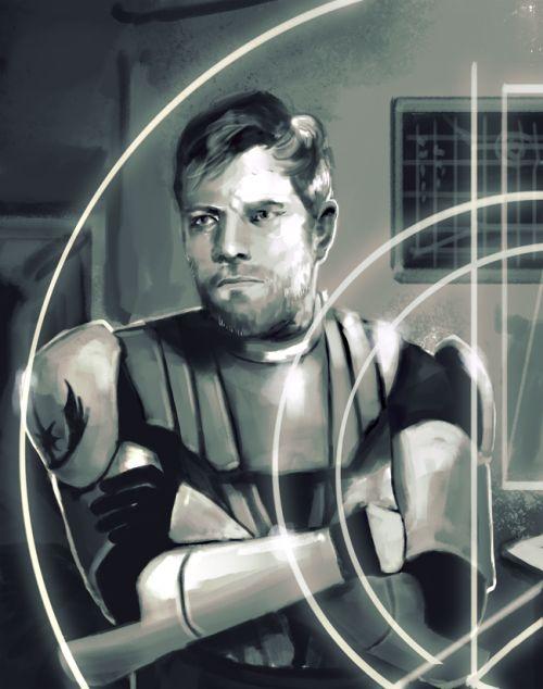 Obi Wan Kenobi During The Clone Wars Sw Star Wars