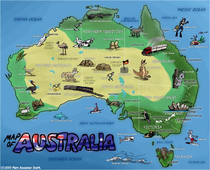 The Best Australia Map Ideas On Pinterest Map Of Australia - Western australia map detailed
