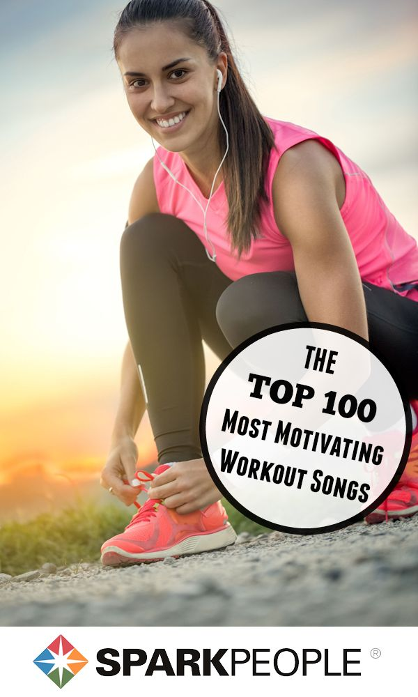 The 100 Most Motivating Workout Songs of All Time | via @SparkPeople #playlist #workoutsongs #workout #fitness #exercise