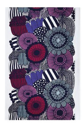 My favorite tablecloth... Siirtolapuutarha tablecloth