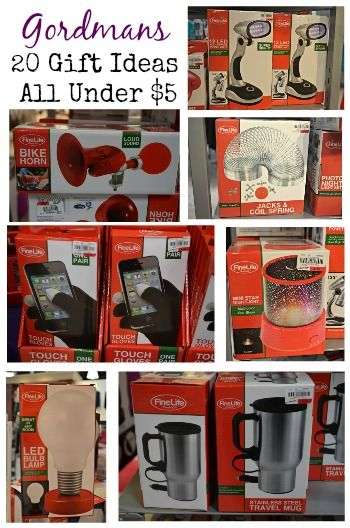 20 stocking stuffer ideas for under 5 dollars all found at your local Gordmans store, Low cost gift ideas   PLUS a coupon so save you another 15 percent off