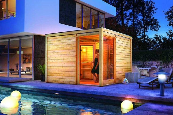 #sauna #outdoor #buiten #buitensauna #houten #wood #wooden <3 #Fonteyn
