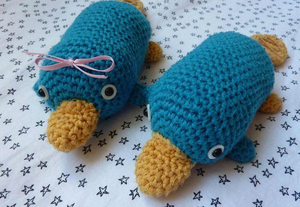 Amigurumi Yarn Australia : 103 best images about platypus :) on Pinterest Ducks ...