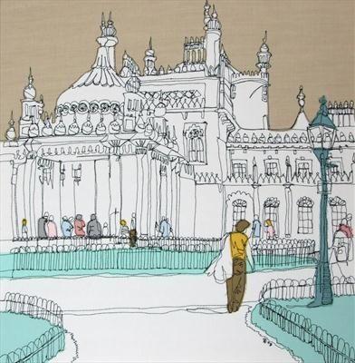Brighton Pavilion by Gillian Bates