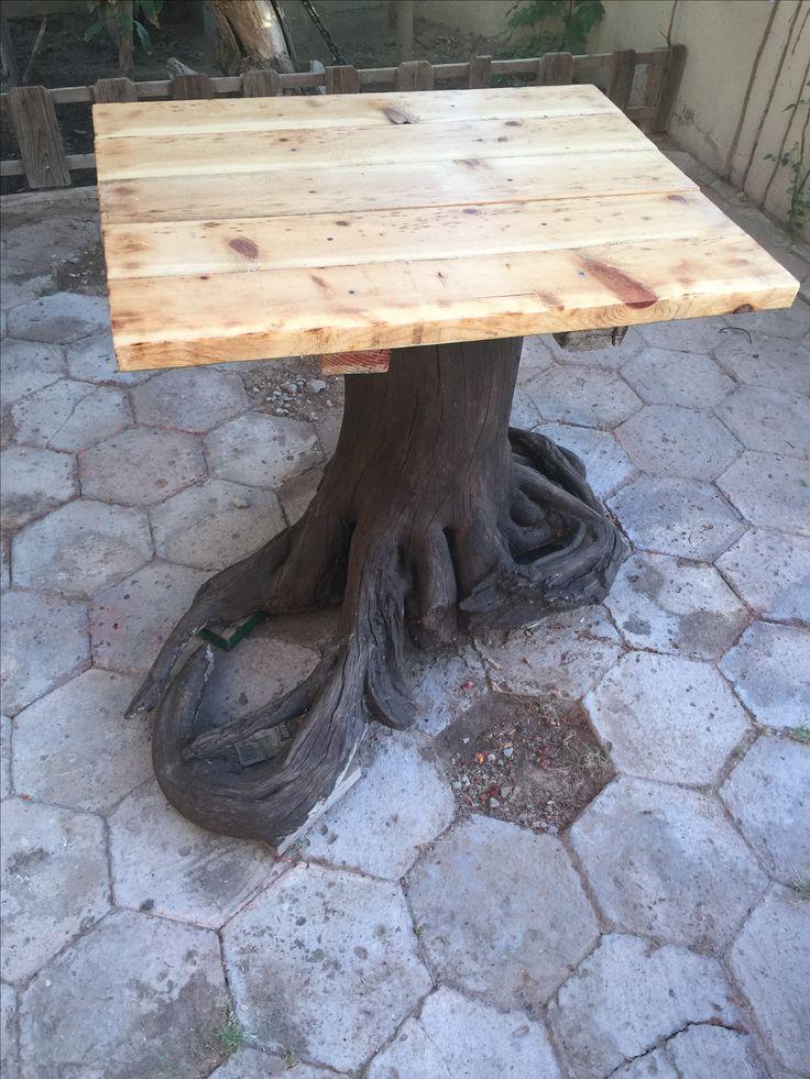 m s de 25 ideas fant sticas sobre mesa de tronco de rbol