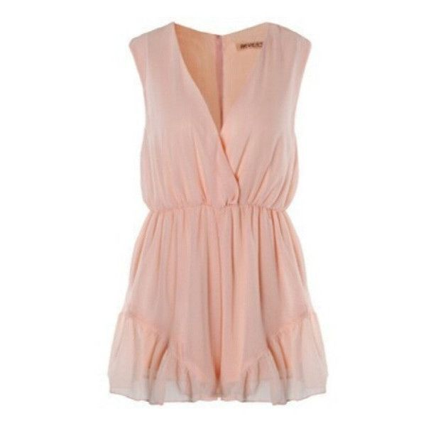 New Baby Pink Playsuit available now at Ruby Liu! ♡ http://rubyliuboutique.com/collections/jumpsuits